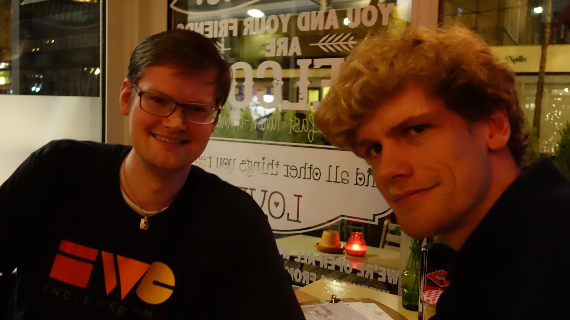 IndieWebCamp Netherlands participants