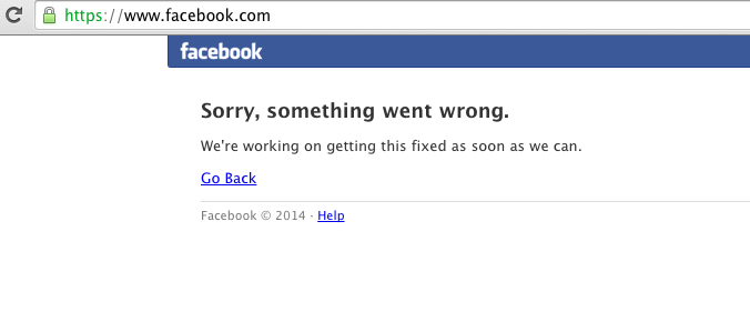 facebook is down 20140801.png