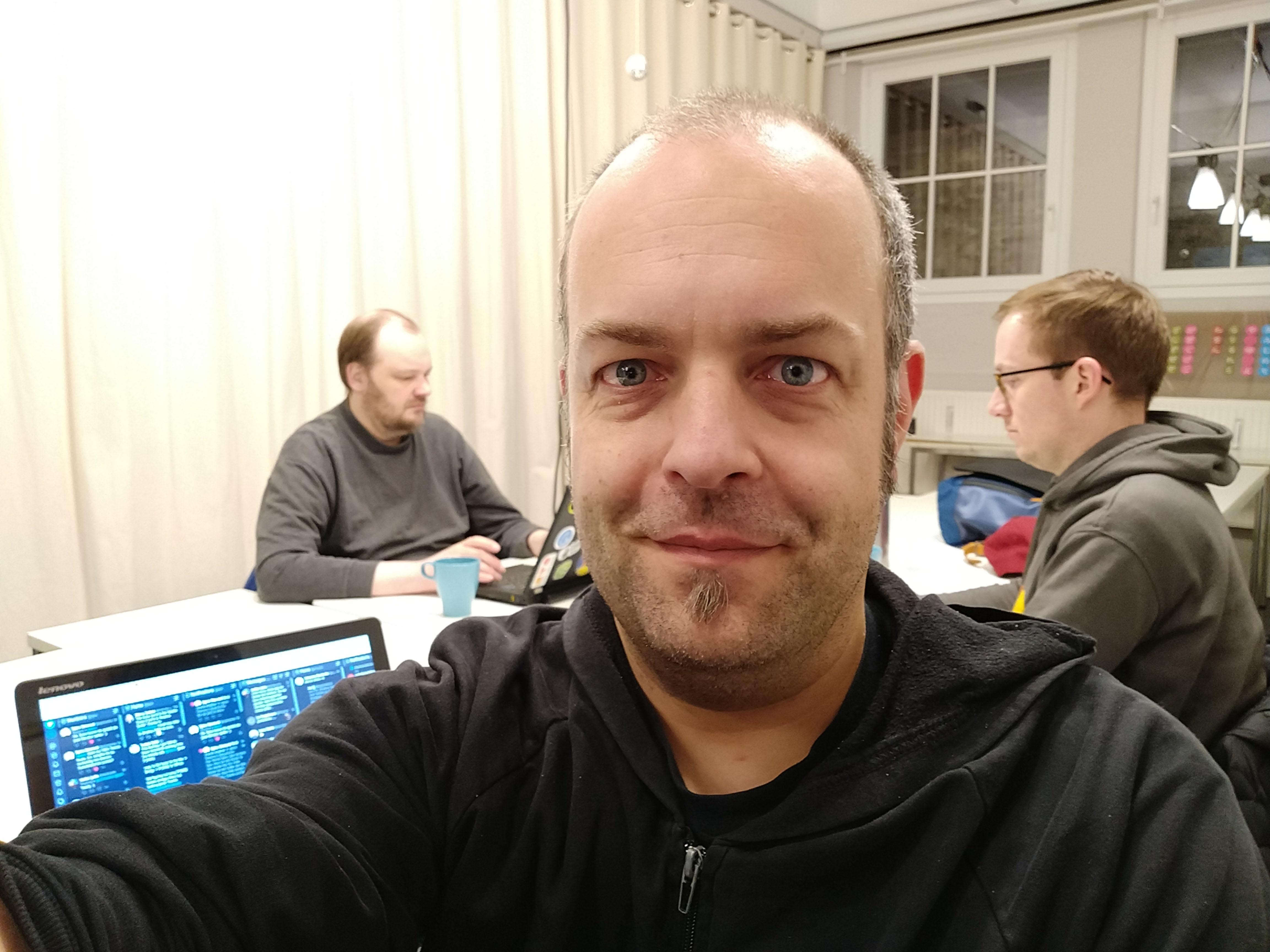 Sebastian, Björn & Joschi at the HWC Nuremberg