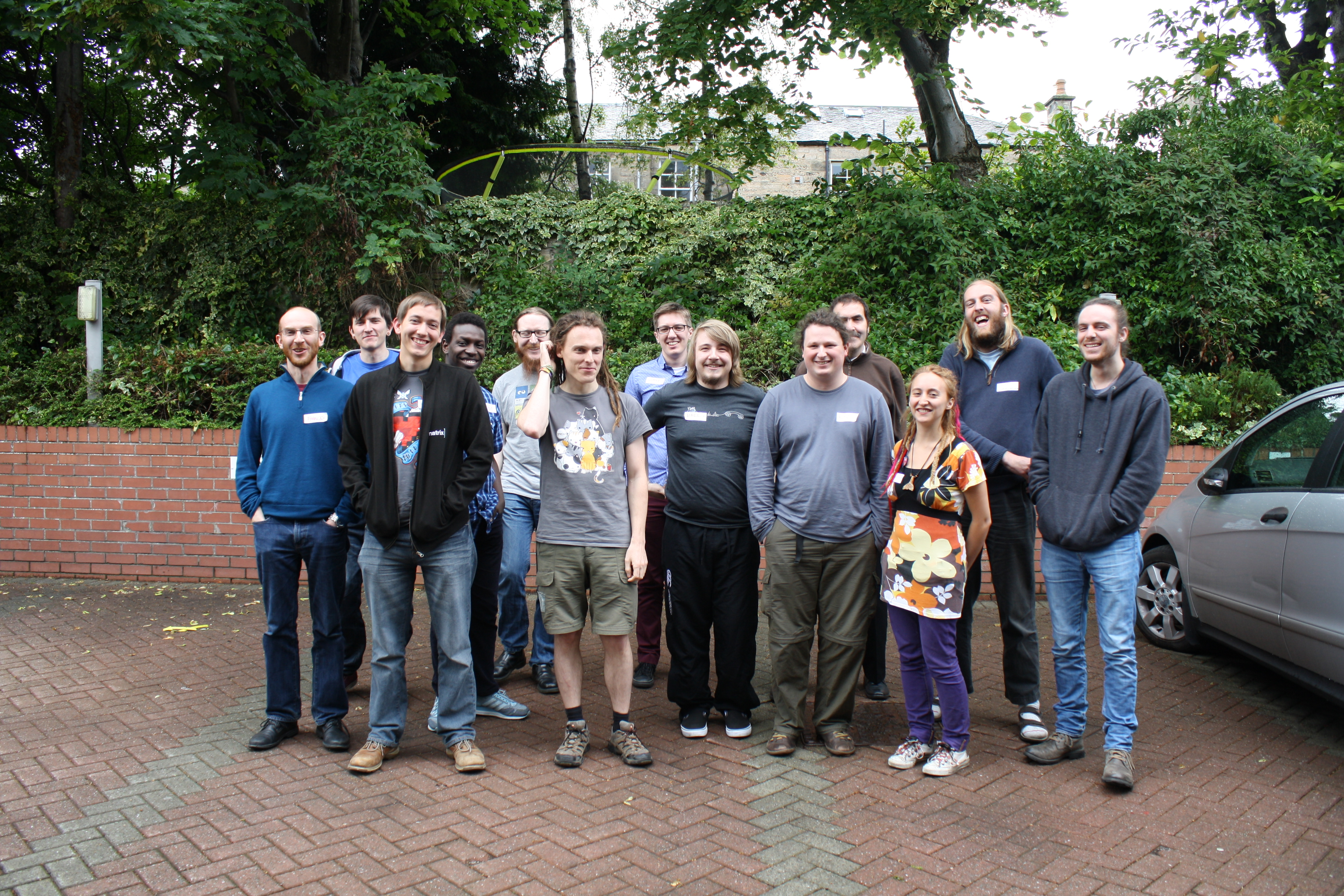 IndieWebCamp Edinburgh group photo