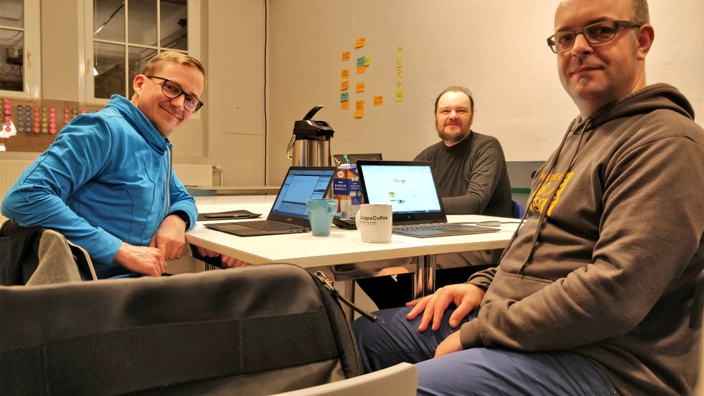 Homebrew Website Club Nürnberg participants