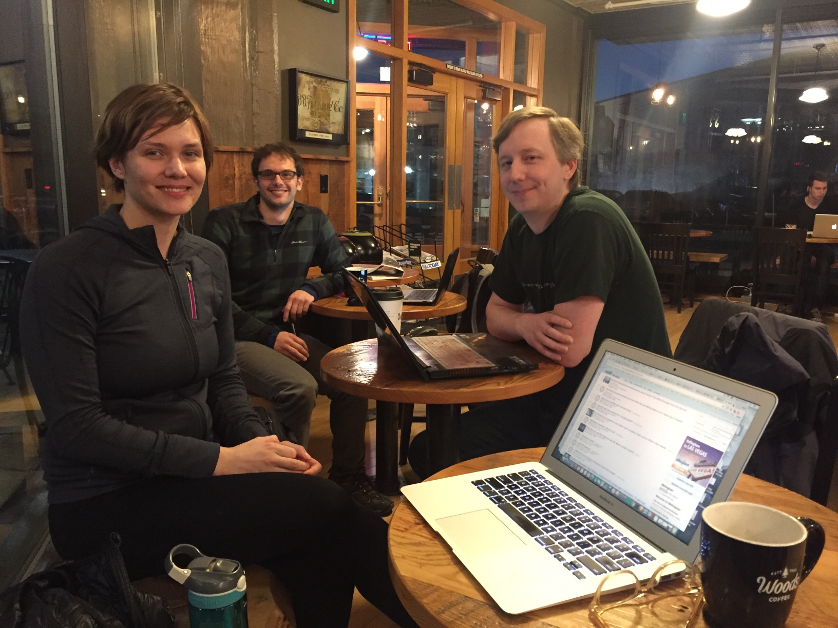 Photo of Homebrew Website Club Bellingham participants
