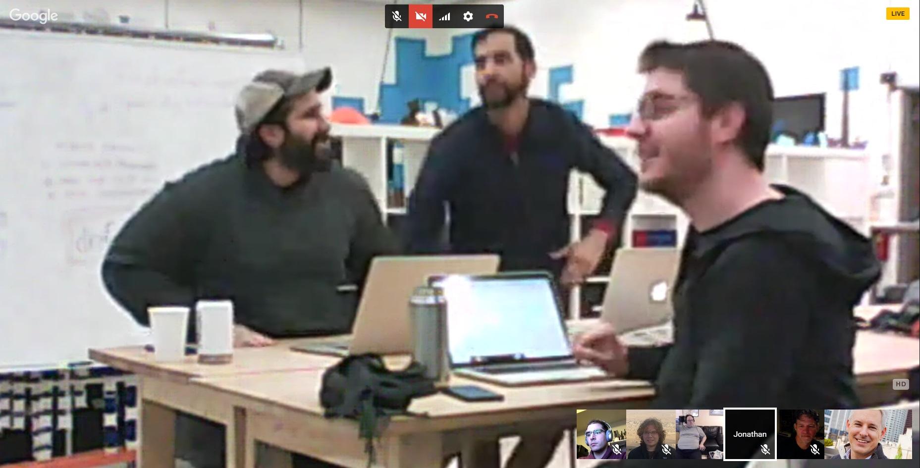Virtual Homebrew Website Club participants