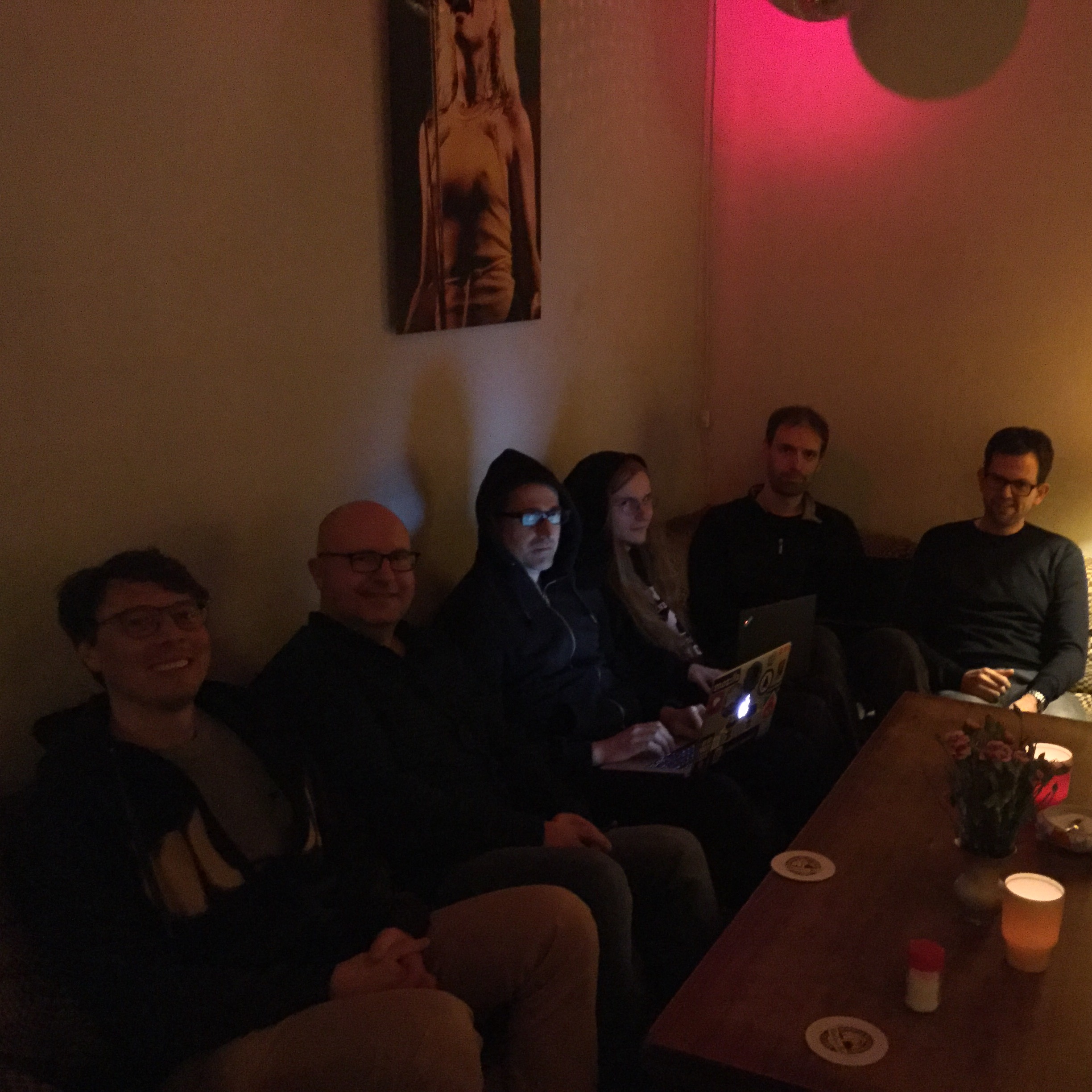 Photo of Homebrew Website Club Berlin participants