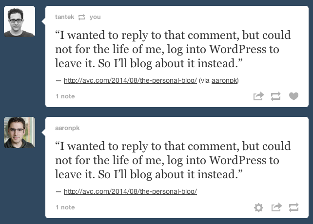 Tumblr - IndieWeb