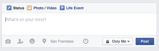 Facebook profile create post options 2015-09-20.png