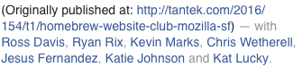 Screenshot of the person-tags display on a Facebook POSSE copy of an indie photo post