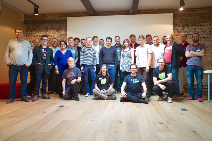 Indie Web Camp UK attendees