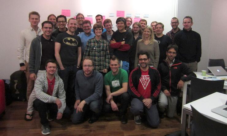 The IndieWeb Camp UK crew