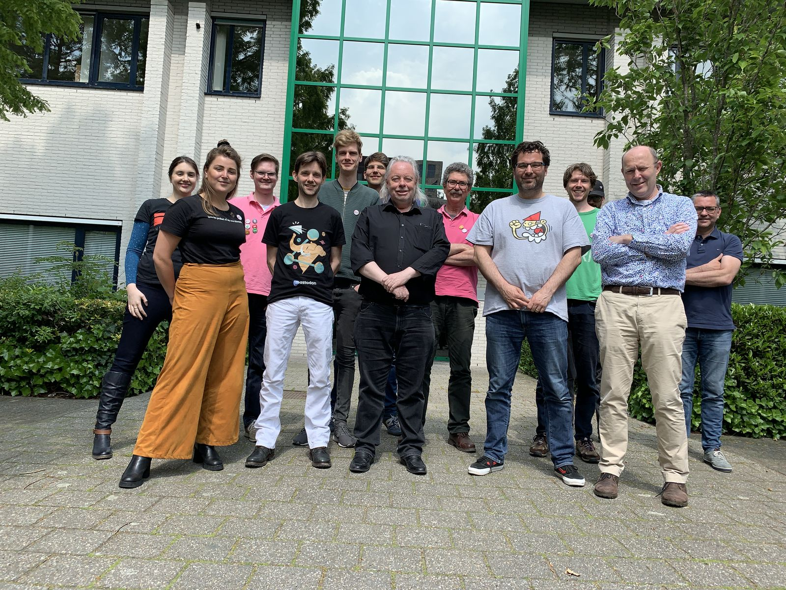 IWC Utrecht 2019 attendees outside, Saturday