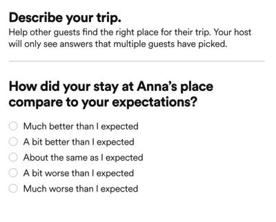 AirBnB Reviews - IndieWeb